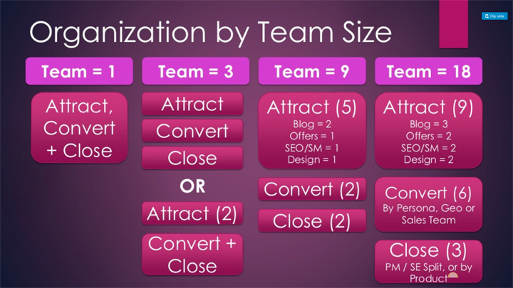 Growth Team Structure