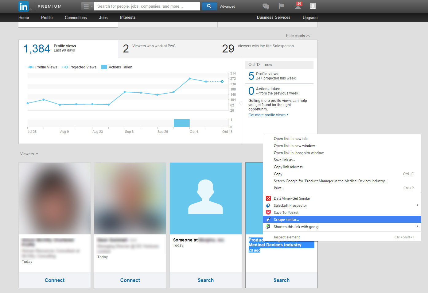 How To Hack Linkedin To See Who Visited Your Website