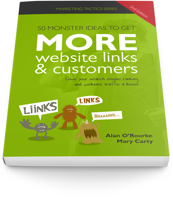 50 monster ideas to get more website links and customers